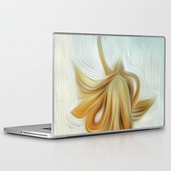 golden hair Laptop & iPad Skin