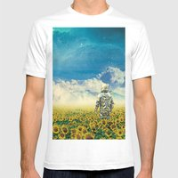 In the field Mens Fitted Tee White SMALL