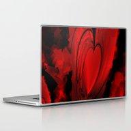 Red Heart  Laptop & iPad Skin