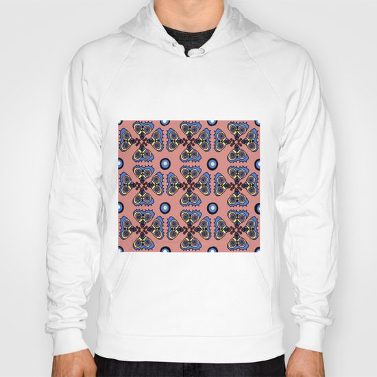 Butterflies and Dots Hoody
