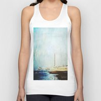 On The Front Textured Fi… Unisex Tank Top