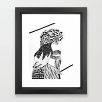 RESURRECCIÓN Framed Art Print