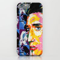 iPhone & iPod Case featuring Taped Elvis by Tilden Art