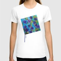 Secret Garden Womens Fitted Tee White SMALL