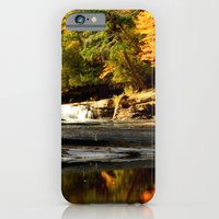 iPhone & iPod Case featuring Fall Reflections by Heather Newkirk Photography