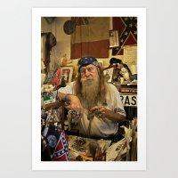 Wildman. Art Print