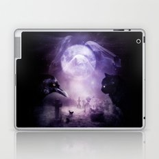In The Glow of Darkness We Wait Laptop & iPad Skin