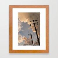 Runaway Framed Art Print