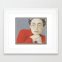 Anna Politkovskaja Framed Art Print