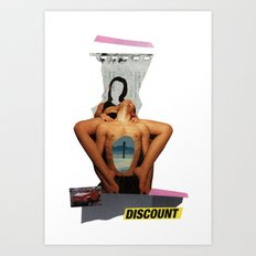 discount Art Print