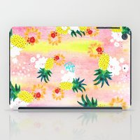 Floral Pineapple Punch iPad Case