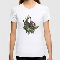 Little Bird Womens Fitted Tee Ash Grey SMALL