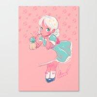 sassy doll Canvas Print