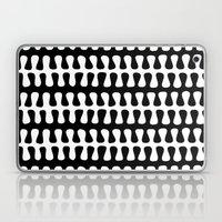 Seaweed Strand Black & W… Laptop & iPad Skin