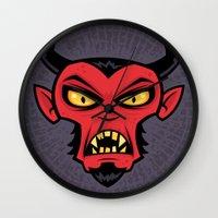 Mad Devil Wall Clock