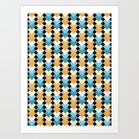 Sea Diamond  Art Print