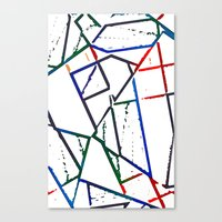 Altered Canvas Print