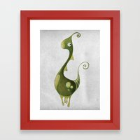 Hello Earthling! 1 of 10 Framed Art Print