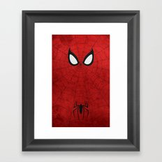 Spider-Man Framed Art Print