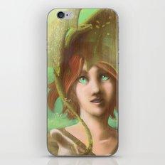 Green Dragon iPhone & iPod Skin