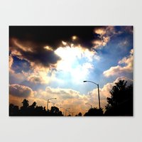 Sun Shine Canvas Print