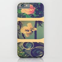 iPhone & iPod Case featuring Spring collage by Julia Kovtunyak