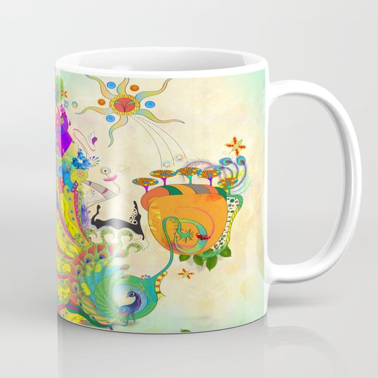 The Peacock Dance Mug