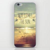 Here Comes The Sun iPhone & iPod Skin