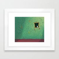 No Wifi Framed Art Print