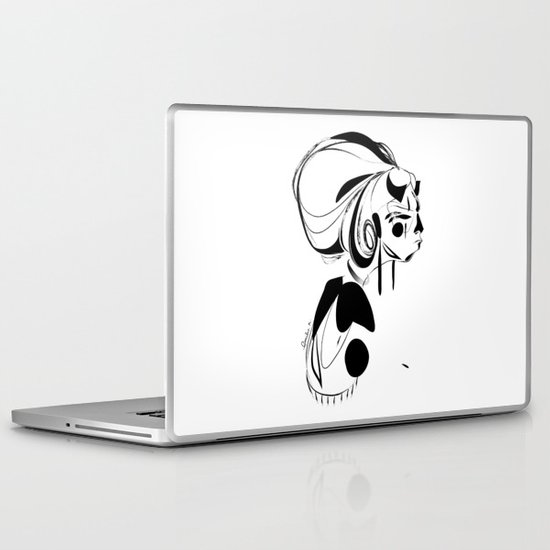 Every second is a handful of dirt - Emilie Record Laptop & iPad Skin
