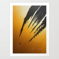 Star Trek Minimalist Art Print