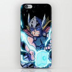 The Mighty THOR! iPhone & iPod Skin