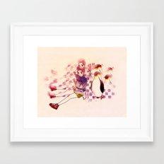 Penguin Playtime Framed Art Print