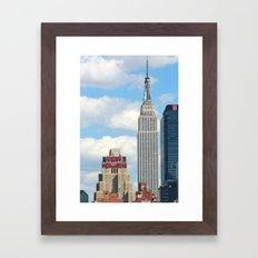 New Yorker - Empire State Framed Art Print
