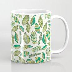 Tropical Jungle Leaves Mug