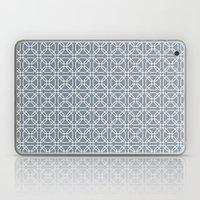 Tiles Ice Blue Laptop & iPad Skin