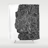 - I see a darkness - Shower Curtain