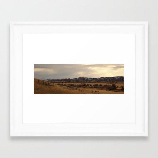 Winds of Casper Framed Art Print