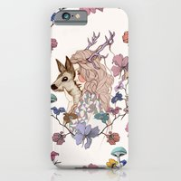 iPhone & iPod Case featuring Oh My Deer by annabours