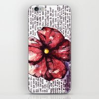 Juno Flower iPhone & iPod Skin