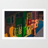 Burano Island V Art Print