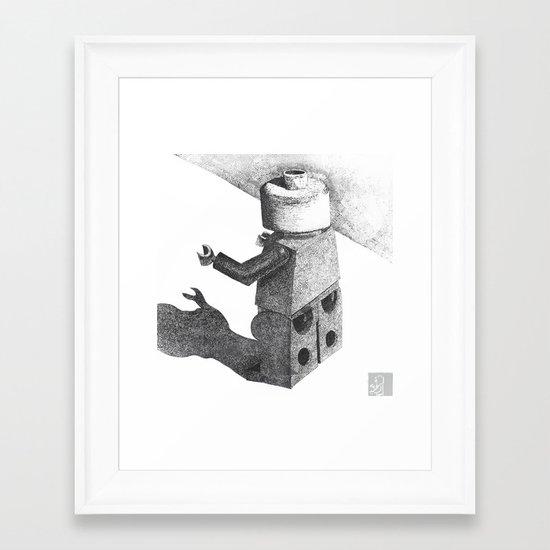 So Long Legoman Framed Art Print