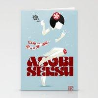 Asobi Seksu Tour Poster Stationery Cards