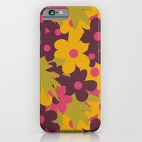 iPhone & iPod Case featuring Flowers For Lola [daisies] by Veronica Galbraith