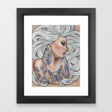 Inked Framed Art Print