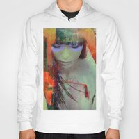 Touch right in the heart by your love Hoody
