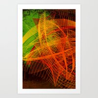 String Theory 02 Art Print