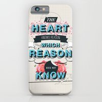 iPhone & iPod Case featuring The Reason by Kavan and Co