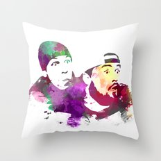 Jay And Silent Bob (Cler… Throw Pillow