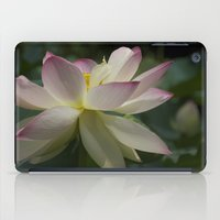 Lotus flower 2 iPad Case